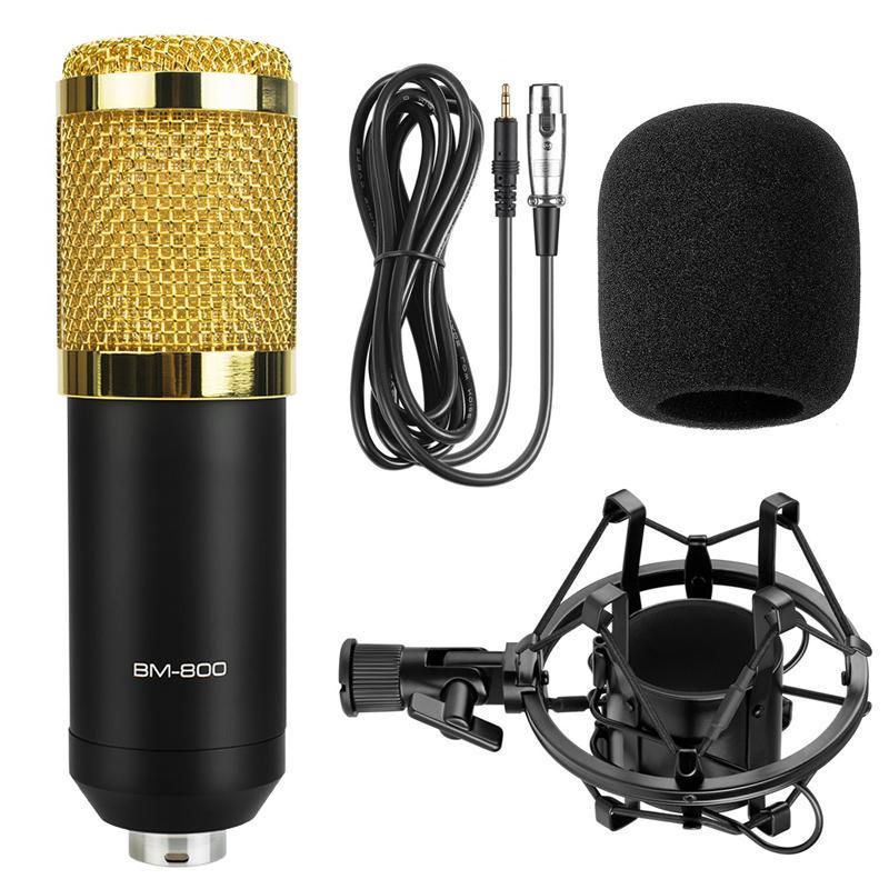 Mic thu âm BM800 hát karaoke