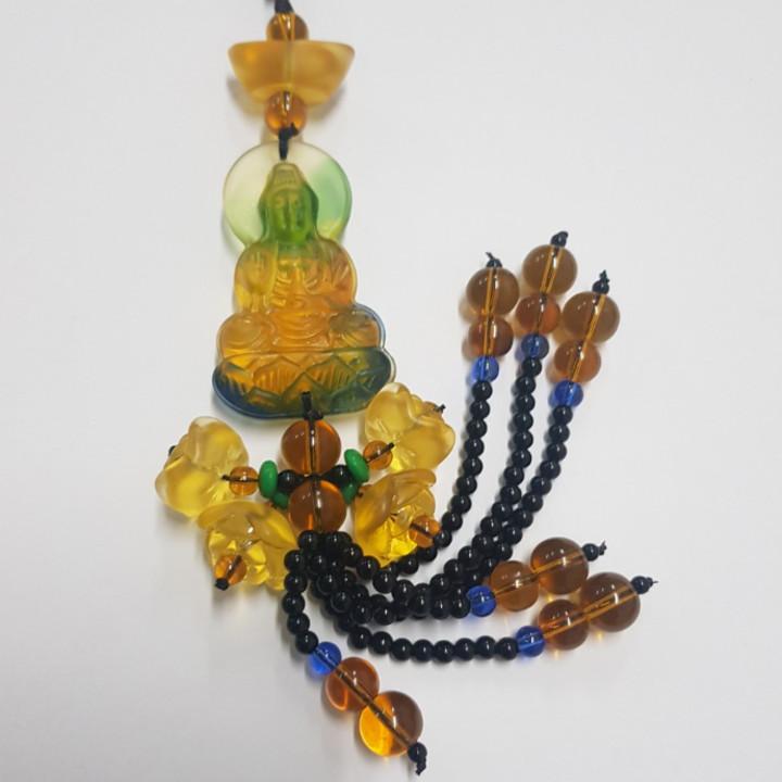 Dây Treo Xe Ô Tô Phong Thủy Tượng Phật Quan Thế Âm Bồ Tát