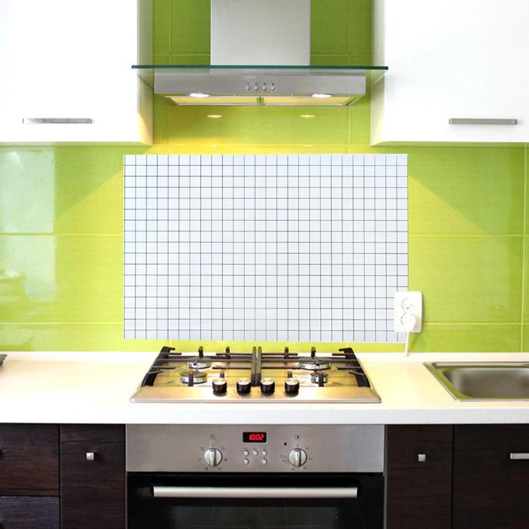 Giấy dán tường nha bếp chông dầu mỡ 70x45cm - Giao màu ngẫu nhiên