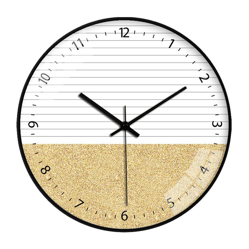 ĐỒNG HỒ TREO TƯỜNG KIM TRÔI - 30CM - ĐỒNG HỒ TRANG TRÍ DECOR CÁT NHŨ - Tặng kèm 1 đinh tiện lợi + 1 pin