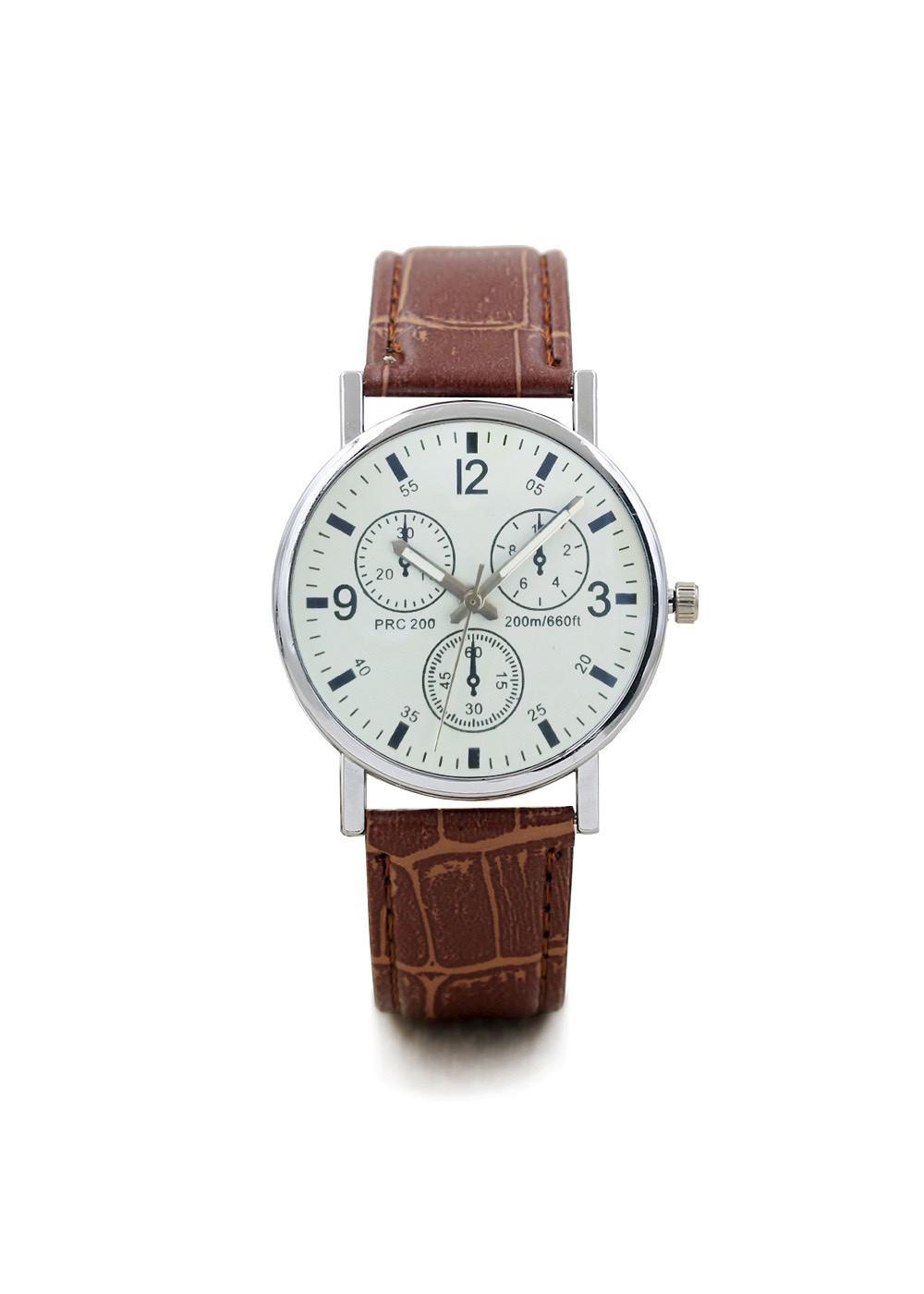 Đồng hồ nam thời trang cao cấp dây da bền bỉ mặt kính tròn to ZO97