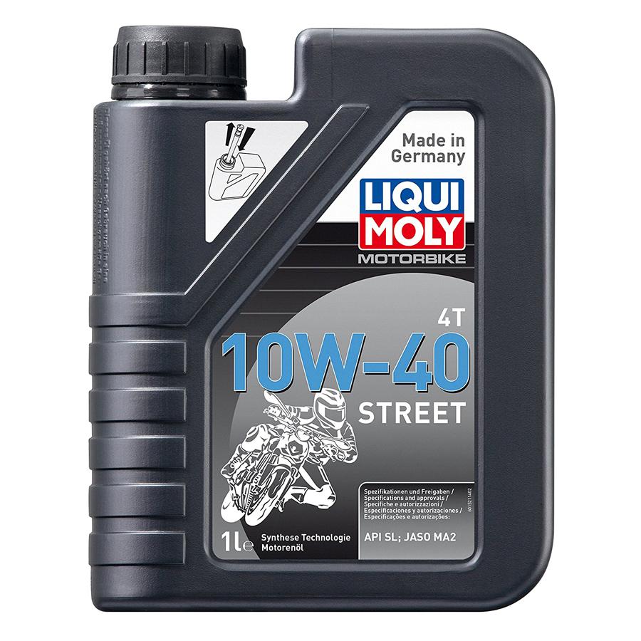 Nhớt Xe Máy 4T Synthetic 10W40 Street Liqui Moly 1521 (1L)