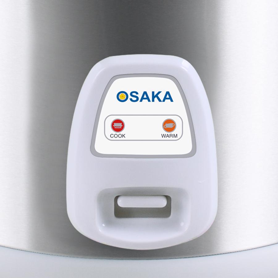 Nồi Cơm Điện 3D Osaka RC318G (1.8L) - Bạc - Hàng Chính Hãng