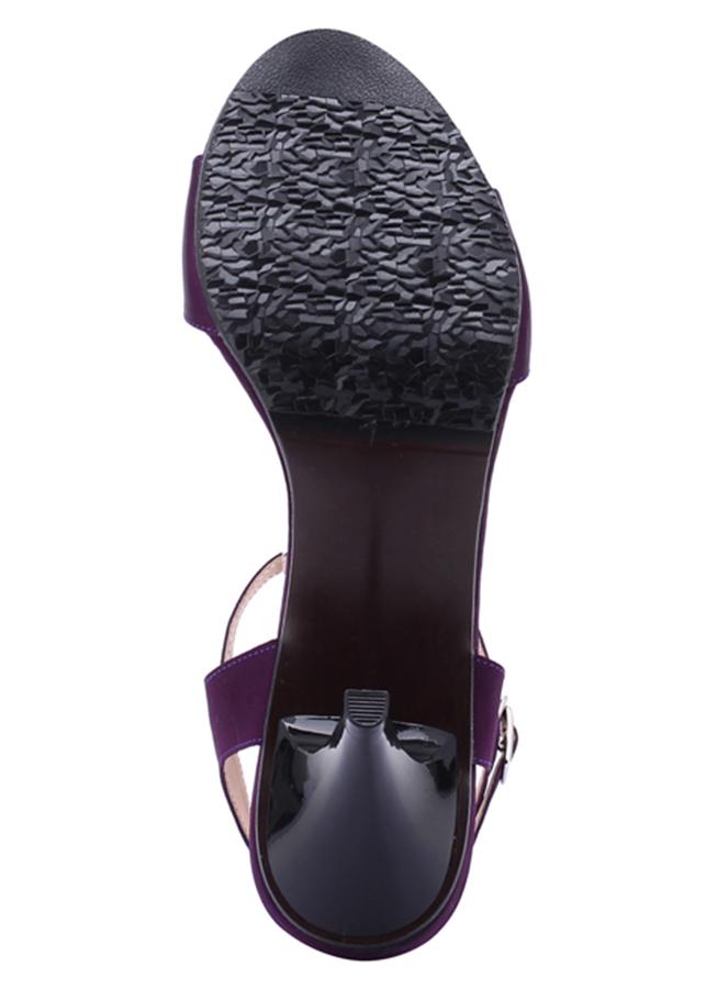 Giày Sandal Nữ Cao Gót Huy Hoàng HT7054 - Tím