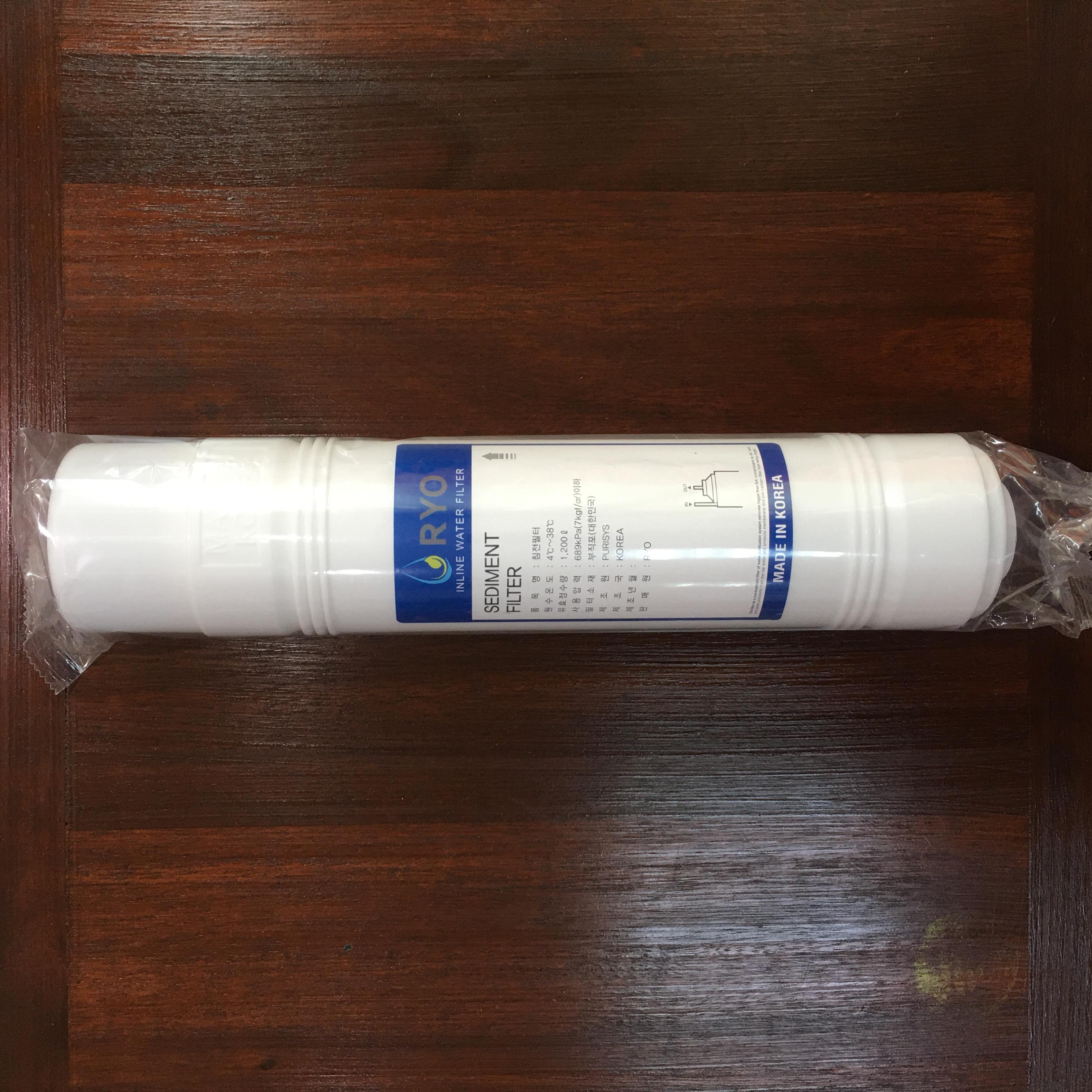 Lõi Sediment Filter RYO HYUNDAI WACORTEC RP-01 - Lõi Lọc Nước Hàn Quốc - Hàng Chính Hãng