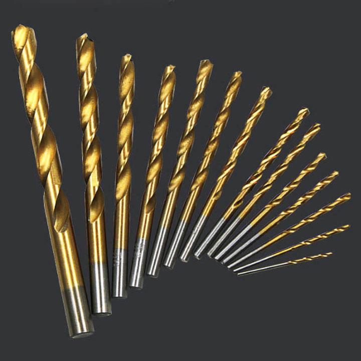 Bộ 13 mũi khoan sắt, khoan  gỗ, khoan nhựa