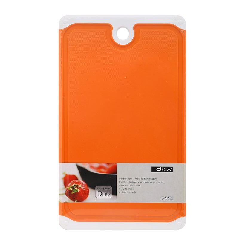 Thớt nhựa kháng khuẩn DKW size lớn (32cm×20cm×1,3 cm) hàng nhập khẩu Thái Lan