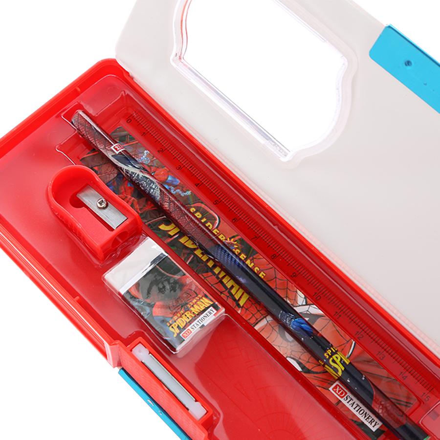 Hộp Bút Hít Thanh Trà 9526 - Màu Đỏ