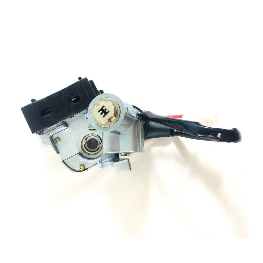 Bộ ổ khóa xe máy Air Blade 110 (6 cạnh)
