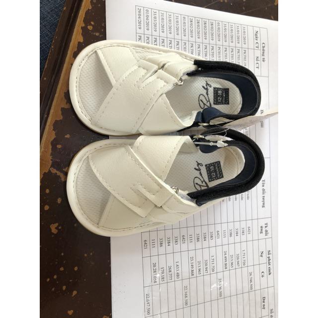 Giày Tập Đi Mềm Mại Cực Chất, Chống Trơn Trượt Cho Bé Trai Giá từ 0 đến 18 tháng