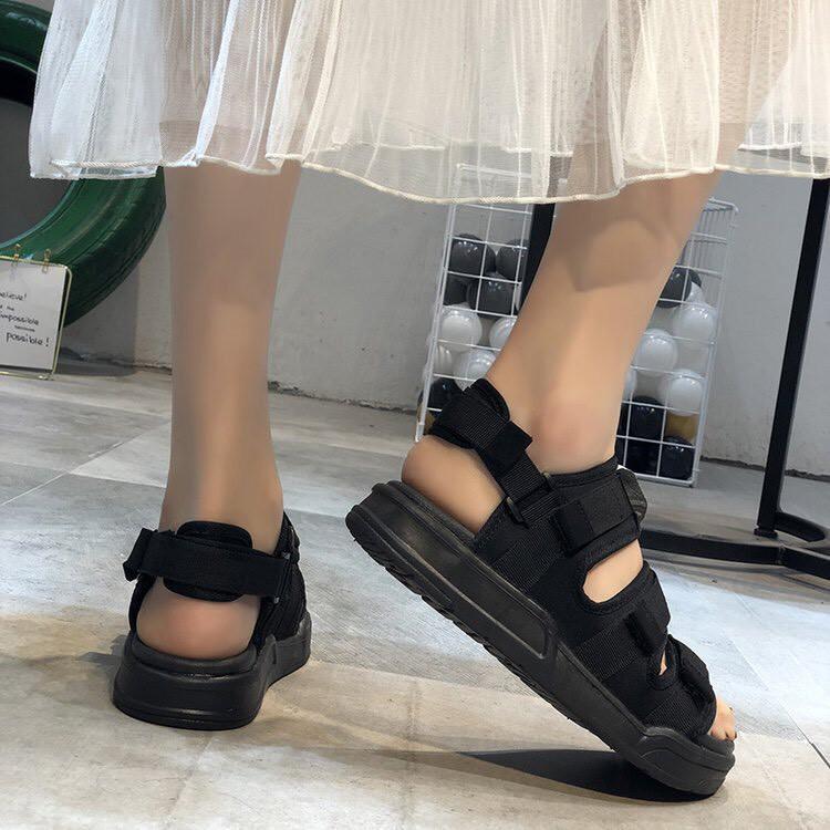 Sandal nữ nam AB siêu HOT 3 quai ngang kèm quai gót rời tiện lợi