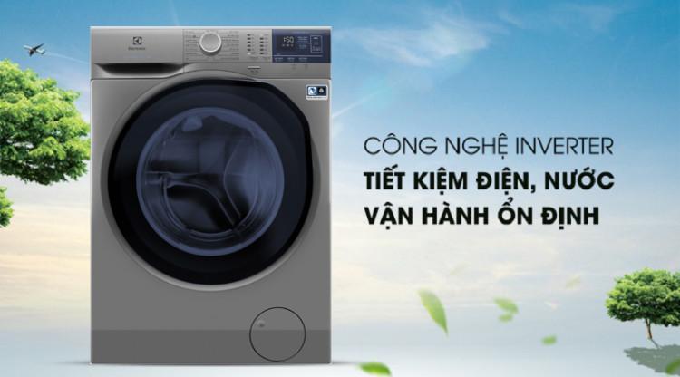 Máy giặt Electrolux EWF8024ADSA - Tiết kiệm nước, điện với công nghệ Inverter