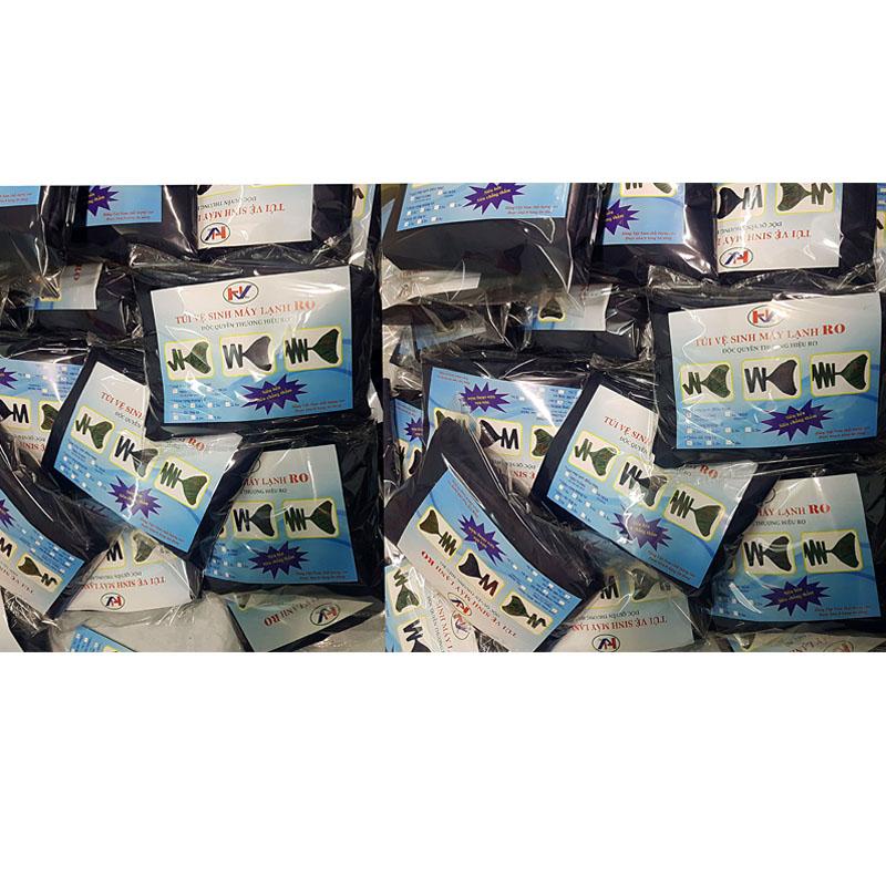 Túi vệ sinh máy lạnh RO _ áo vệ sinh máy lạnh RO _ vệ sinh máy lạnh tại nhà _ RO03