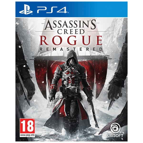 Đĩa Game Ps4: Assassin Creed Rogue Remastered-Hàng nhập khẩu