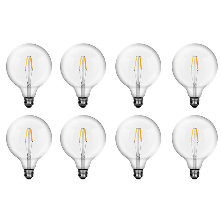 Bộ 8 bóng đèn Led Edison G125 16W đui E27