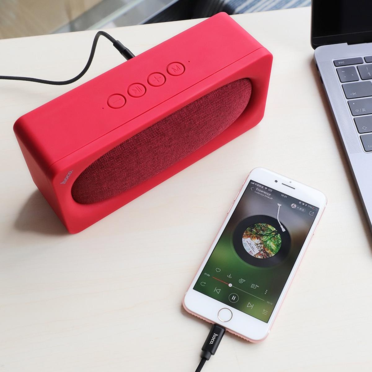 Cáp Kết Nối Audio 3.5 Hoco UPA13  - Hàng Chính Hãng