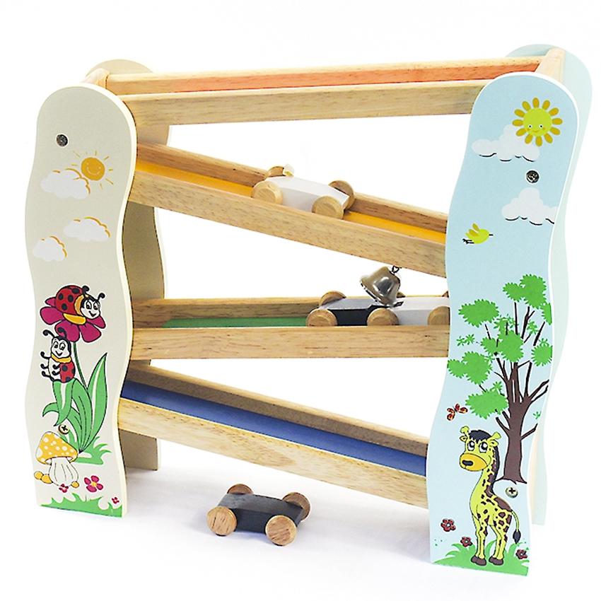 Đồ chơi gỗ Trò chơi trượt xe 2 (63092)