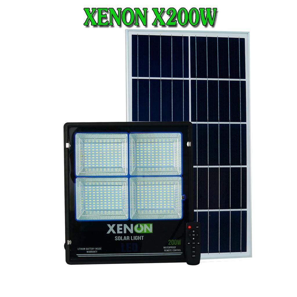 Đèn pha Xenon X200W năng lượng mặt trời