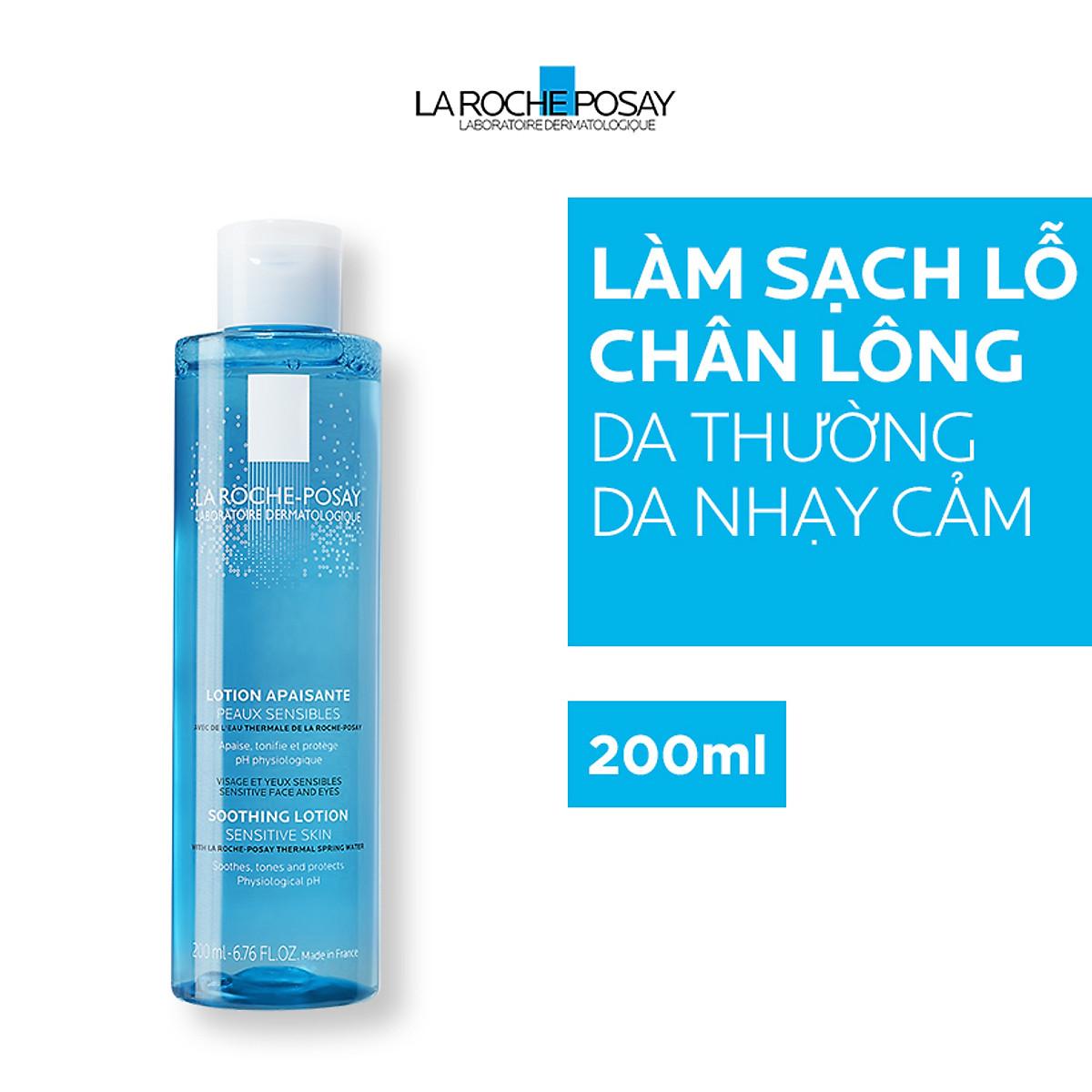 Nước Cân Bằng Giàu Khoáng Dành Cho Da Nhạy Cảm La Roche-Posay Soothing Lotion Sensitive Skin (200ml) + TẶNG MÓC KHÓA