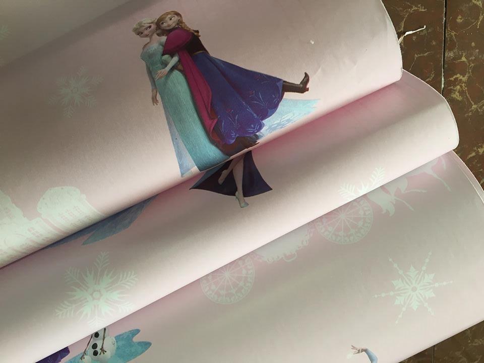 5m giấy decal cuộn công chúa elsa DT112 (45x500cm)