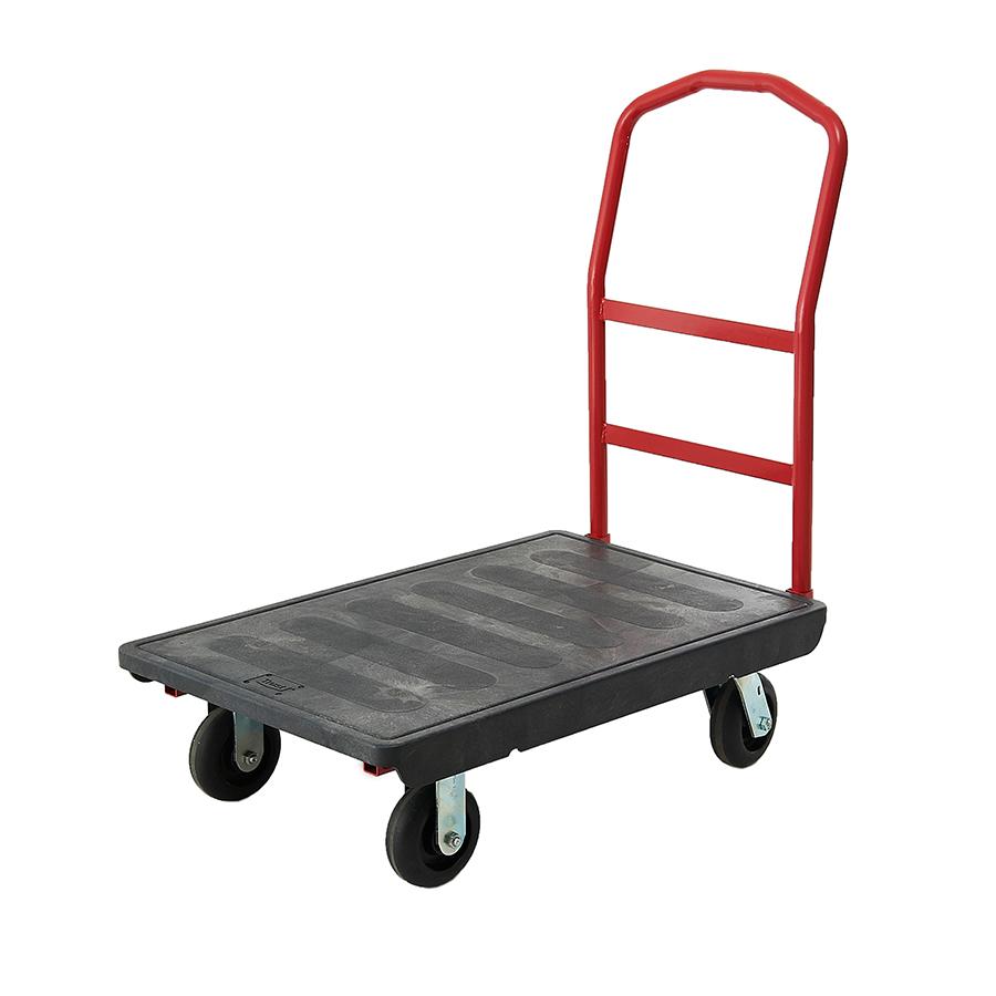 Xe đẩy đồ bằng nhựa có bánh xe TPR 6″  OEASY HORECA TRUST mã 4411BK
