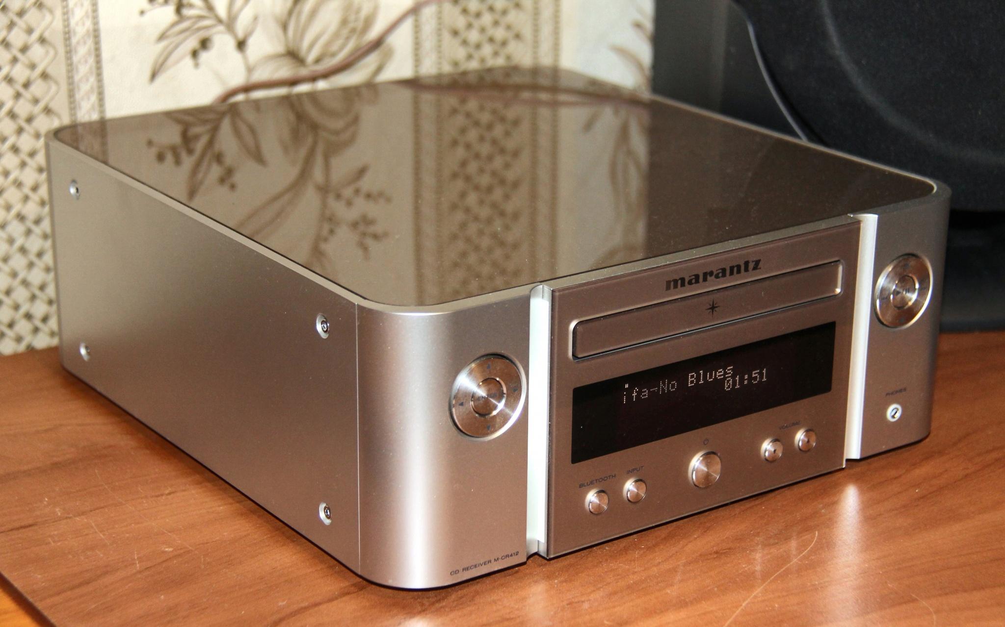 Máy đọc CD Marantz M-CR412 hàng chính hãng new 100%