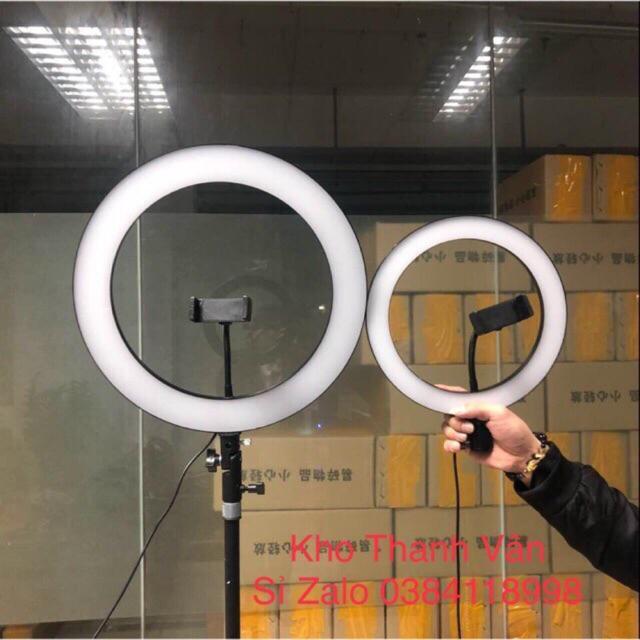 Đèn Led Makeup Ring RL 18inch 50cm ( kèm chân to, kẹp điện thoại  và túi đựng )