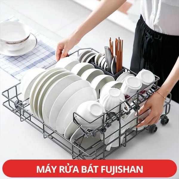 Máy rửa bát Fujishan Việt Nam 8 bộ model mới nhất năm 2020 (Hàng Chính Hãng)