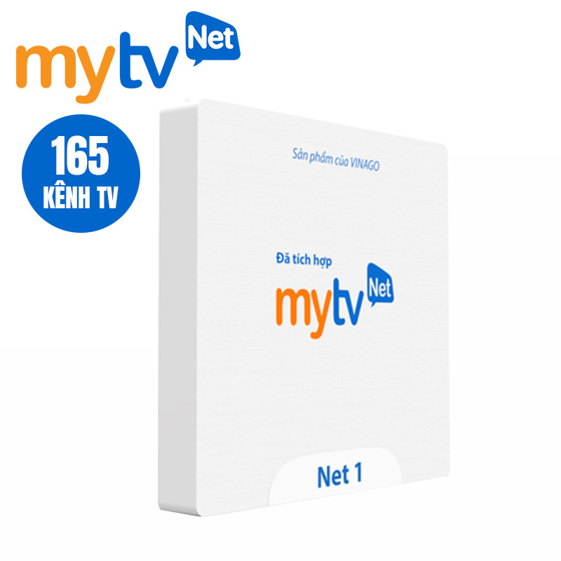 Android Box MyTV - VNPT cao cấp cho gia đình Việt - Tặng chuột Wireless 200K - Hàng Chính Hãng
