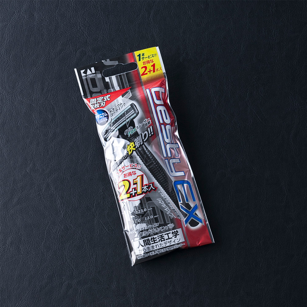 Dao cạo râu cao cấp Nhật Besty Ex 2 Blade/2+1