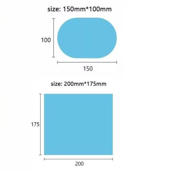Bộ 4 miếng dán chống đọng nước kính hông và gương chiếu hậu ô tô, xe hơi cao cấp DC150