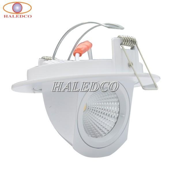 Đèn LED âm trần 12W HALEDCO rọi tranh, ảnh góc xoay linh hoạt