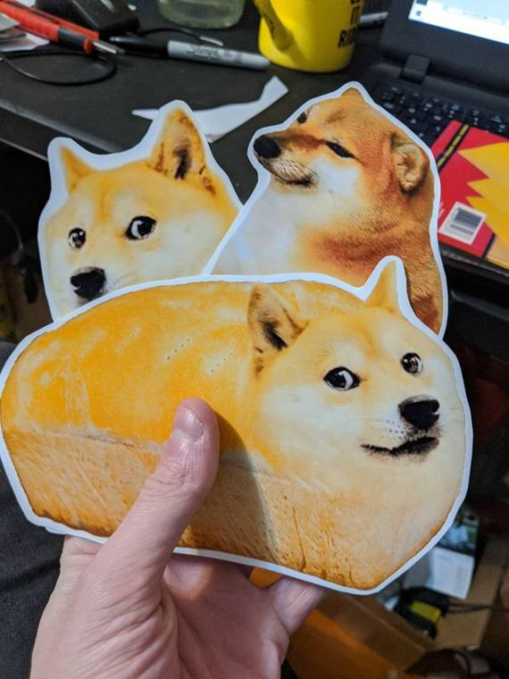 sticker set 60 ảnh Cheems ( mẫu ngẫu nhiên )