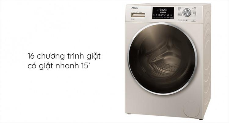 Máy giặt AQUA AQD-DD1200C N2 tích hợp 16 chương trình giặt tự động