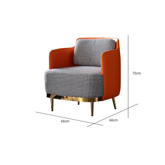 Ghế sofa đơn  sang trọng - Ghế sofa phòng khách (kt 66x66x75cm)
