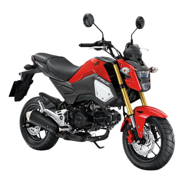 Xe Máy Honda MSX 125cc 2018 (Đỏ Đen)