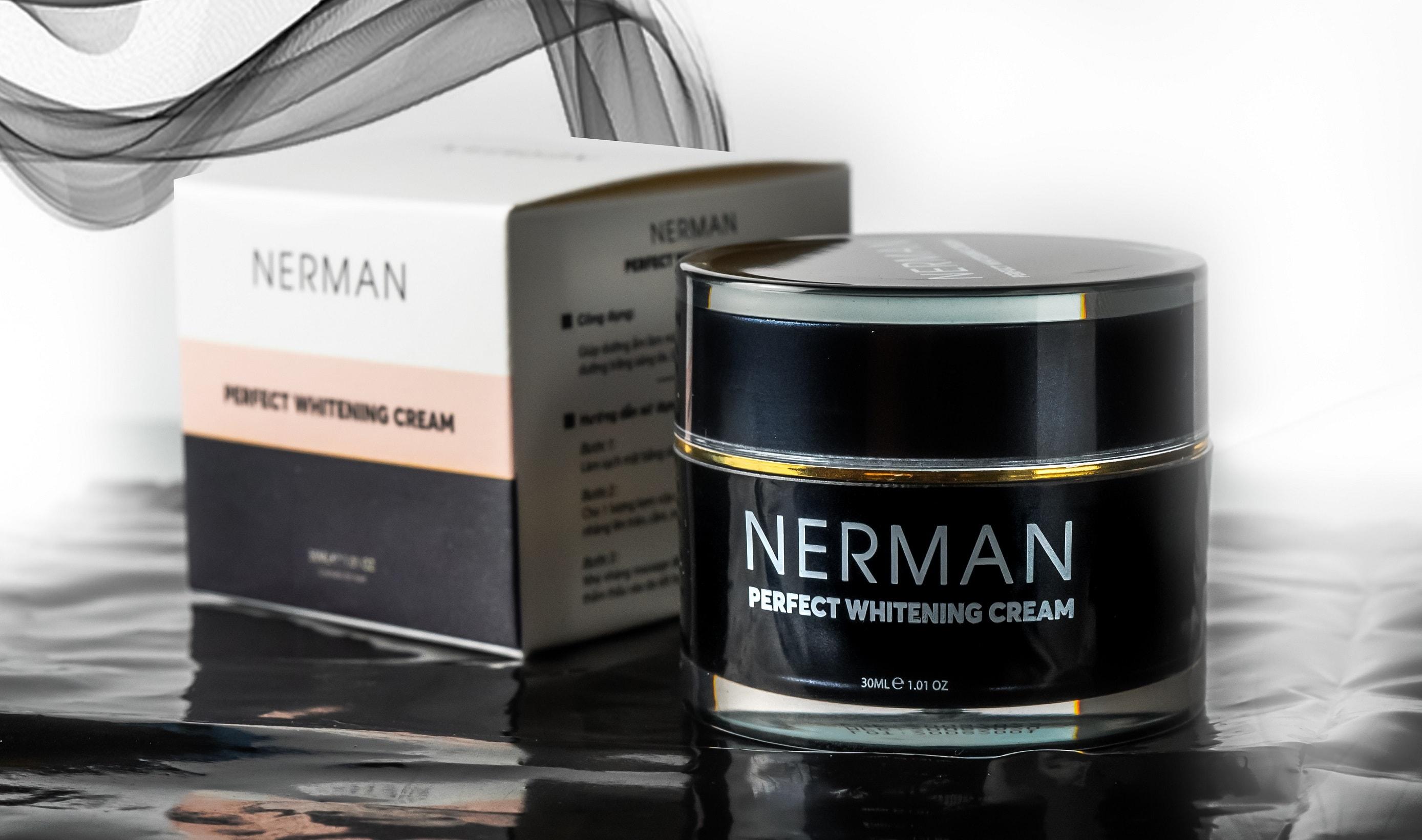 Kem trắng da mờ sẹo Nerman Perfect Whitening Cream