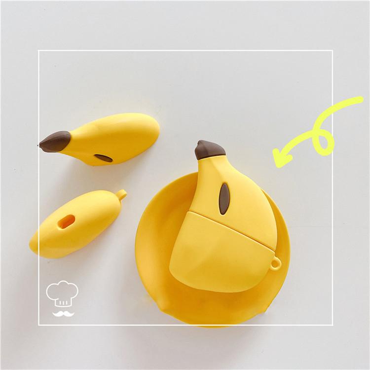 Bao Case Cho Airpods Pro Hình Trái Chuối