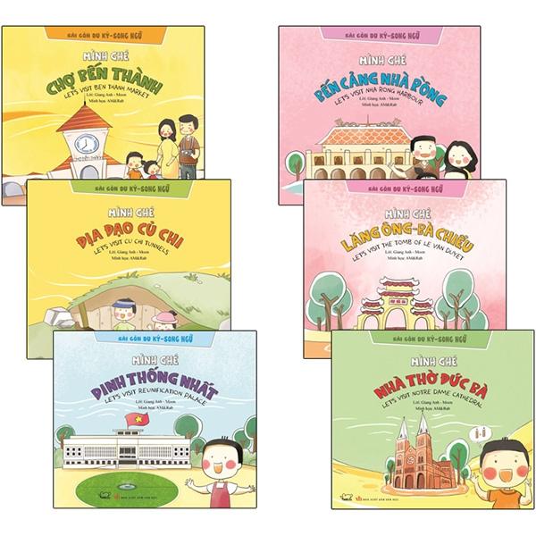 Tủ Sách Sài Gòn Du Ký - Song Ngữ (Bộ 6 Cuốn)