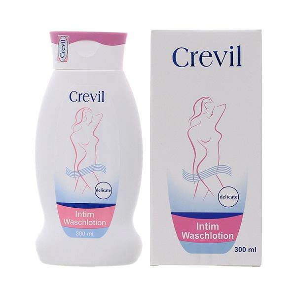 Dung dịch vệ sinh phụ nữ cao cấp Crevil Intim Waschlotion 300ml, hỗ trợ điều trị các bệnh phụ khoa, thời kỳ kinh nguyệt, duy trì cân bằng độ PH niêm mạc