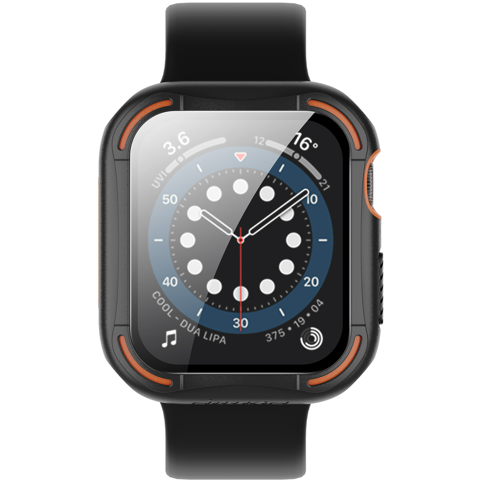 Ốp Case Chống Shock Nillkin Crash Bumper cho Apple Watch Series 4/5/6/SE (Size 40/44mm) - Hàng Nhập Khẩu