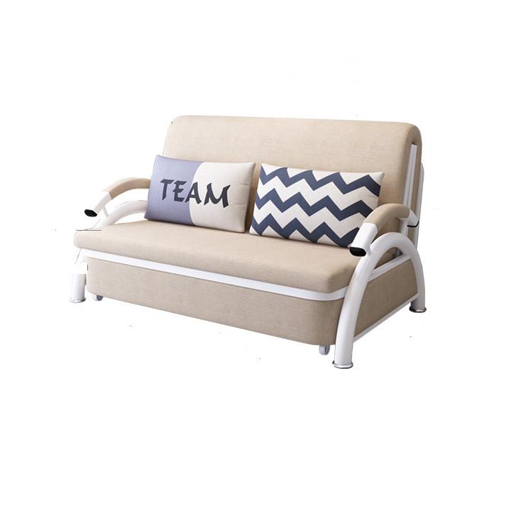 Sofa giường Thông Minh 1m58 1m90 màu kem xám ngẫu nhiên
