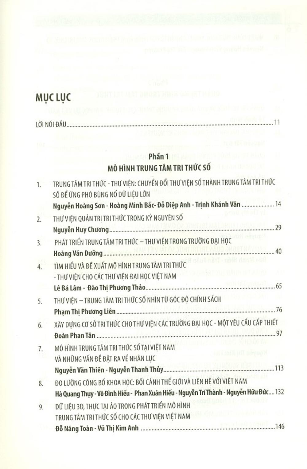 Phát Triển Mô Hình Trung Tâm Tri Thức Số Cho Các Thư Viện Việt Nam