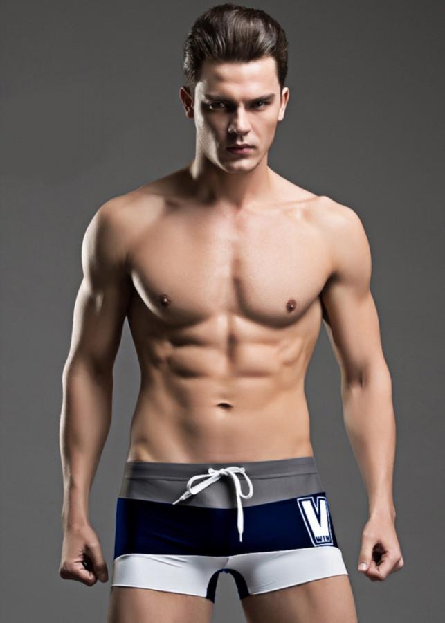 Quần bơi nam boxer Super Body 1502-ST