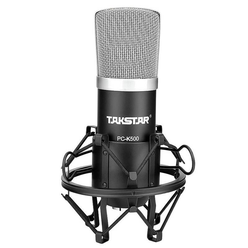 Mic thu livestream, micro thu âm Takstar PC-K500- hàng chính hãng