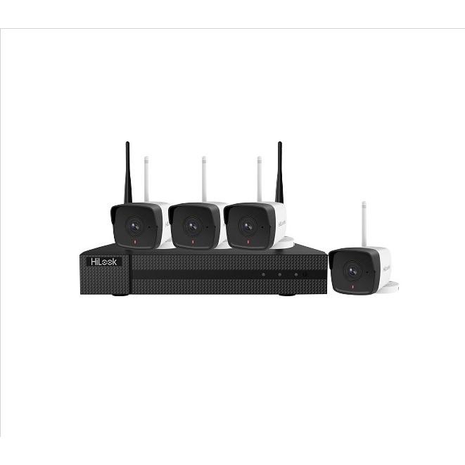 Bộ Kit camera IP Wifi HILOOK IK-4042BH-MH/W(B) - Hàng chính hãng