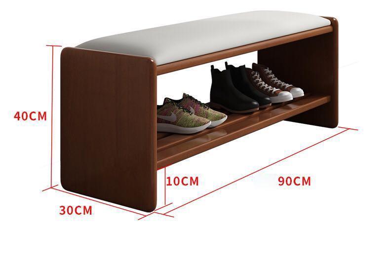 Ghê đôn kết hợp giá để giày đa năng,Tủ giày thông minh kết hợp ghế ngồi 90cm GHR007 - Màu ngẫu nhiên