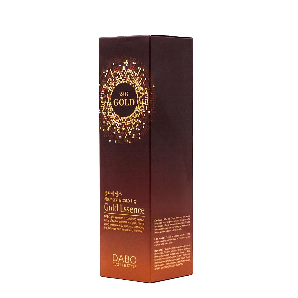 Nước hoa hồng tinh chất từ vàng nguyên chất 24k Hàn Quốc cao cấp Dabo Gold Essence – Hàng Chính Hãng