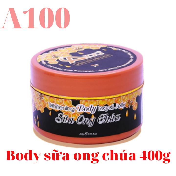 Body A100 chính hãng - body sữa ong chúa 400gr
