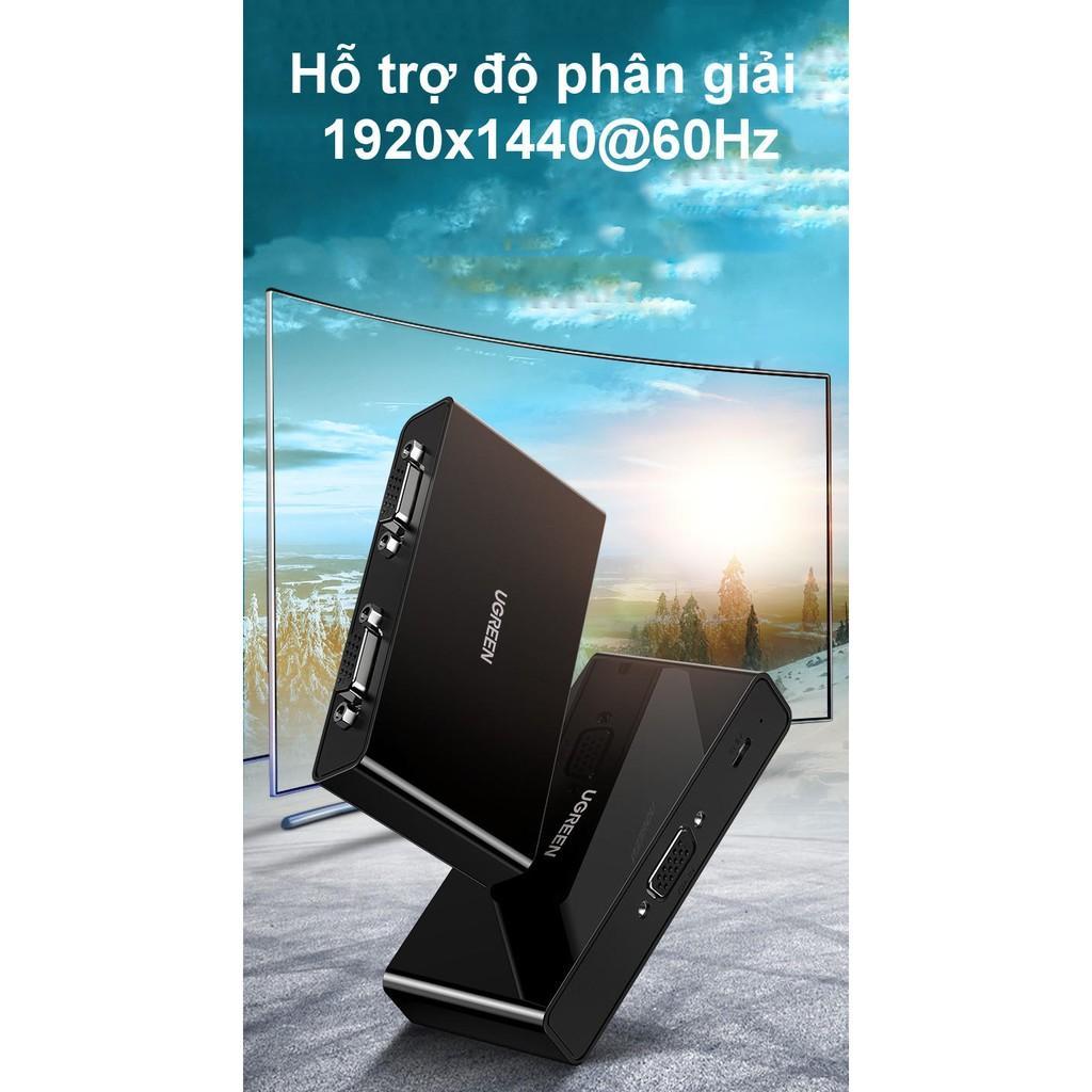 Bộ chia VGA 1 ra 2 cao cấp UGREEN CM339 80190 - Hàng chính hãng